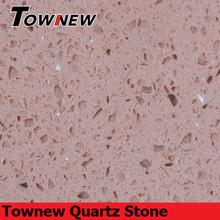 Classic purple color with grain edging scratch-resistance quartz big slab