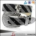 venta al por mayor de moda nuevo diseño de cristal de diamante deimitación novia correa para vestido de novia
