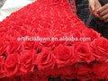 حار بيع الحرير الورود 2014 لحضور حفل زفاف زهرة في حديقة زخرفة عيد الميلاد