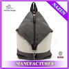 unique zip bag,men duffel canvas bag outdoor day backpack 20-30 L
