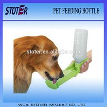 portable pet feeding bottle/dog dispenser/pet travel drink water bottle