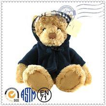 Factory direct sale New design plush toy teddy bear coat