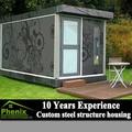 2014การออกแบบใหม่หรูหราหนึ่งห้องนอนบ้านmodularสำเร็จรูปภาชนะโรงแรม
