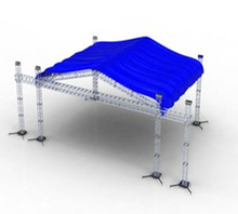 STS 12x12inch outdoor roof truss 6 legs roof trusses with Canvas
