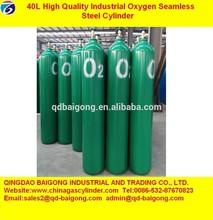 Empty N2,Ar,Co2 Gas Cylinders 40l