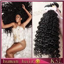 Natural raw indian hair deep wave virgin raw unprocesse virgin indian hair weaving