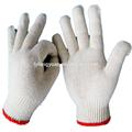 De punto de algodón guantes de trabajo