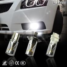 Factory! High quality most powerful led fog light T20 30w car led light bulbs