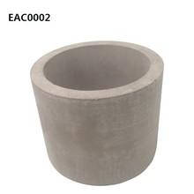 concrete decorative plant pots indoor wholesale cement flower pots