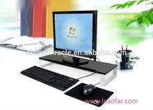 New design practical MDF desktop computer shelf