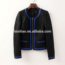 2015 women pu leather jacket fashion style china factory