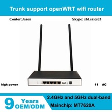 MT7620A chipset with 1 USB 2.0 port and one Micro Slot Openwrt wireless router