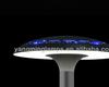 new design patent-based garden light outside