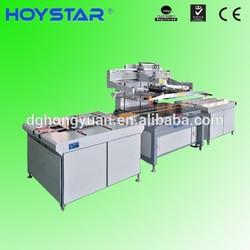 dongguan hoystar printing machinery automatic screen printer