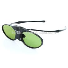 HD active shutter cheap 3d glasses