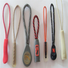 best quality Guang Zhou custom silicone zipper puller, rubber zipper pull tags