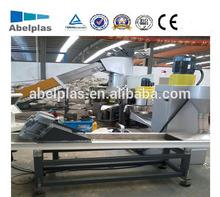 recycling plastic pelletizing machine/pp pe film flakes plastic recycling granulating machine
