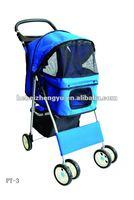 aluminium dog trolley/folding dog trolley/walking pet carrier