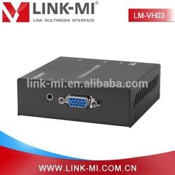 LINK-MI s-video vga rca to hdmi converter support PAL/NTSC standard 1080p