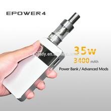 Katady Newest Mechanical Mod 35W, Variable Watt Vaporizer E-cigarette , Wax Vapor
