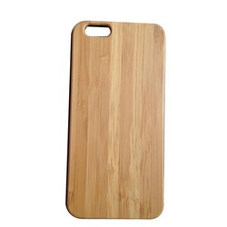 Special Material Bamboo and Wooden Case for iPhone 6 Back Cover, Back Cover Case of Wooden and Bamboo Material for iPhone 6