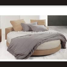 Bedroom round bed