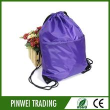 waterproof drawstring backpack beach bag / wholesale bag beach