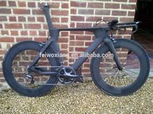 Hot Sale 700C OEM Carbon TT Bike Frame,Time Trial Carbon Triathlon Bike Including Frame,Fork,Headset&Seatpost