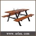 arlau tb104 madeira mesa de piquenique banco de cadeiras e mesas