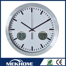 lcd digital wall clock timer