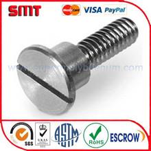 tungsten screws with fine finish