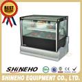W430 2 300to2000mm table réfrigérée charcuterie vitrine ou de la nourriture chauffe. vitrine.