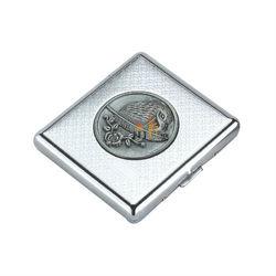 Aluminum Magnetic Top cigarette box metal cigarette caseCA15T