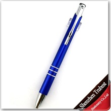 competitive price retractable metal ball pen for promotion and advertisement