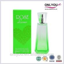 2014 OEM&ODM Love rose perfume essence designer perfume