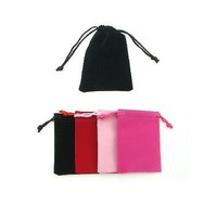 7X9CM gift & promotion cell phone power bank velvet drawstring puches