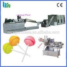 Lollipop application automatic single color lollipop candy making machine