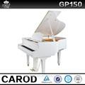 بيضاء لامعة 88 مفاتيح حفل بيانو