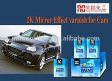2K mirror effect varnish
