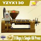 7 ton output V cold press oil machine