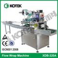 flux horizontal automatique machine de conditionnement du fromage