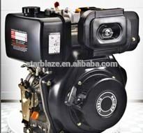 Partida elétrica refrigerado a ar Motor elétrico usado de motores marítimos