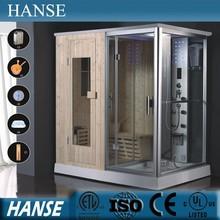 HS-SR013 1.8m length steam sauna shower combination,steam shower sauna combos