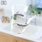R450Y-P PLA 15oz 450ml biodegradable custom printed plastic - take away cups