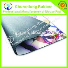 Waterproof logo printed natural rubber table mat