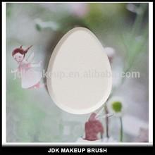 White Color Oval Shape Makeup Sponge