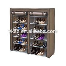 non-woven fabirc folding tall shoe cabinet
