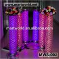 1m Lighted High quality crystal pillars columns for wedding decorations,columns for wedding decoration(MWS-002)