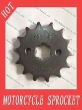 1045 steel 20CrMnTi material 428 14T 428 15T press cutting motorcycle sprocket