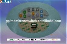 3M 468 back ahesive waterproof membrane switch